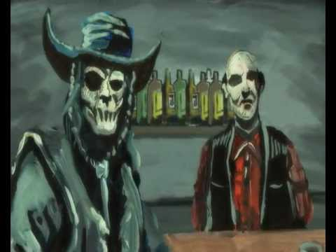 music video : Ghoultown – Drink With The Living Dead