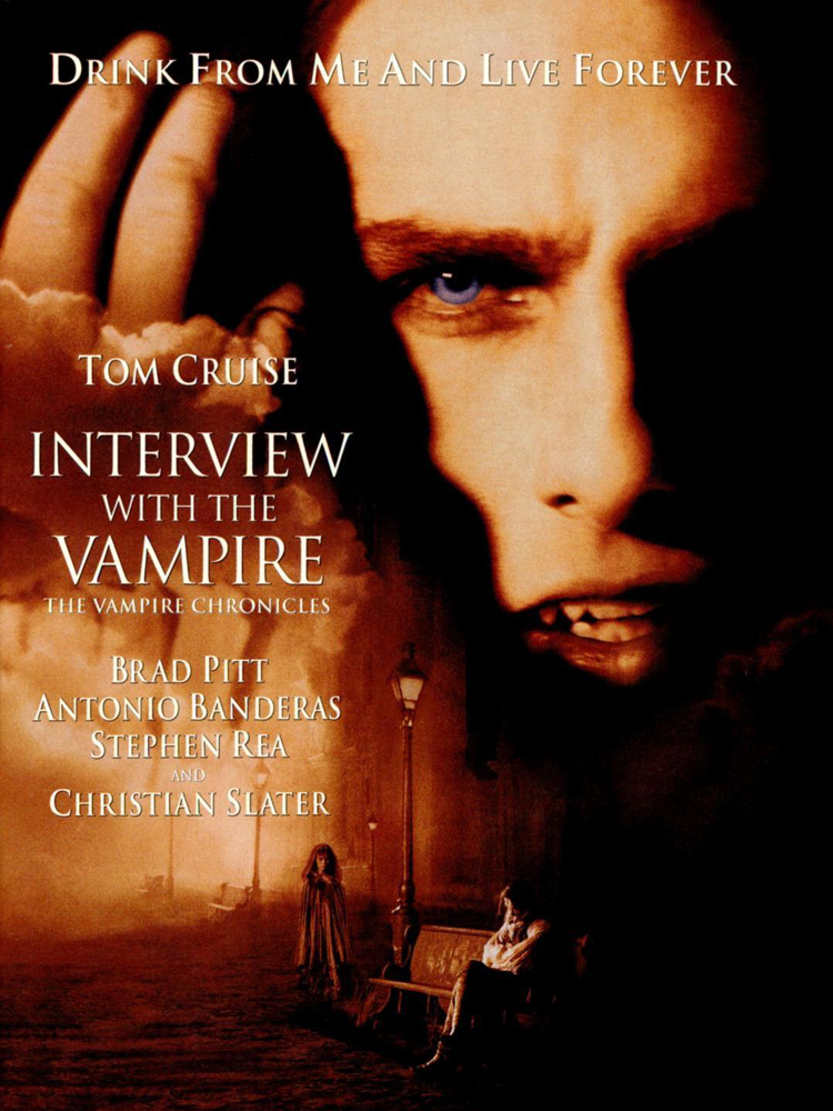 vampire films list Interview With The Vampire