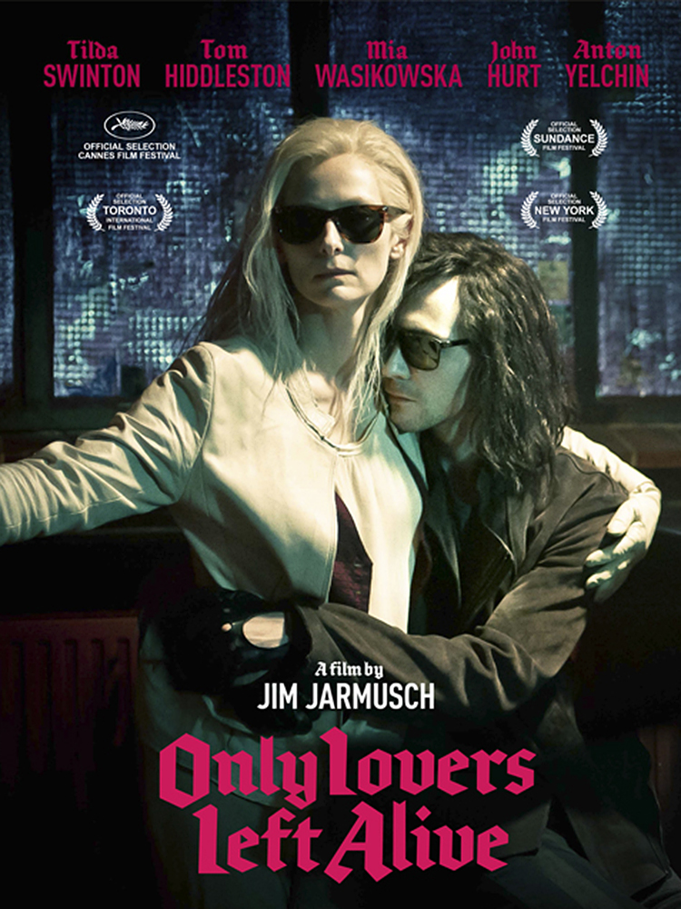 vampire films list Only Lovers Left Alive