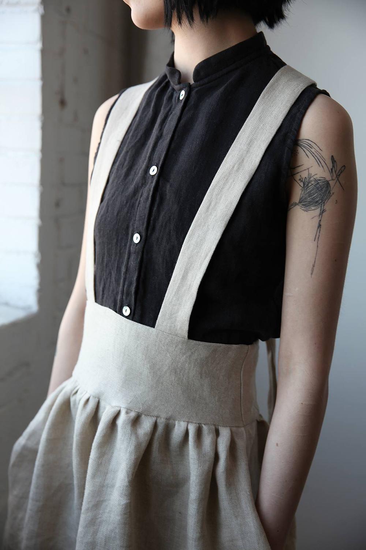 Ovate Spring-Summer 2016 Suspender Skirt