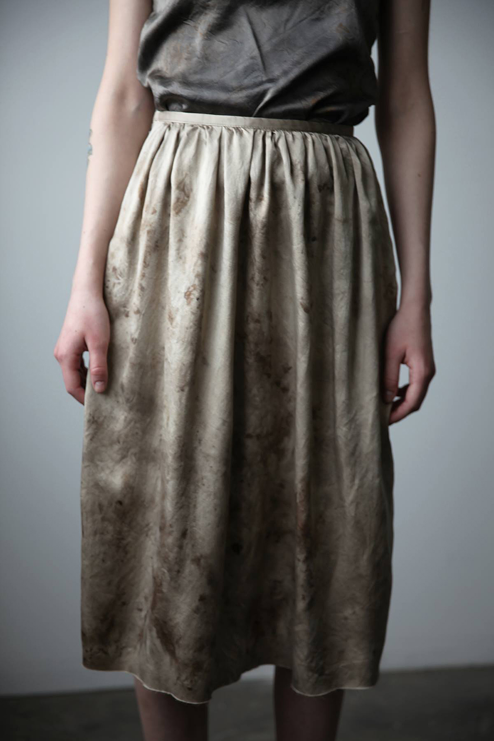 Ovate Spring-Summer 2016 Silk Skirt