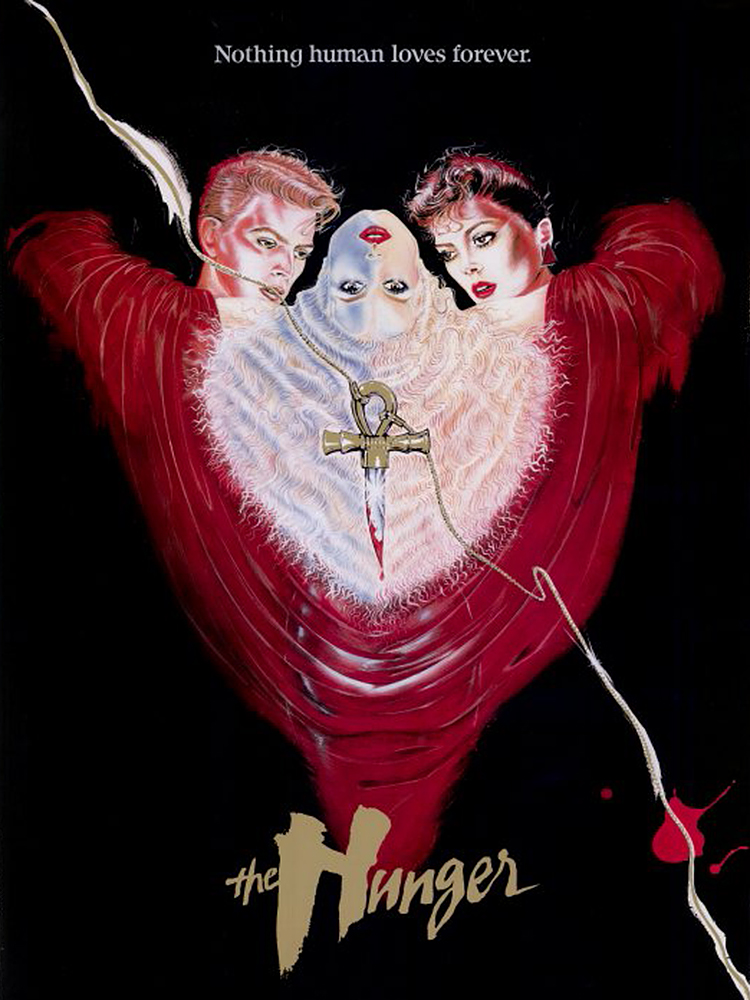 The Hunger vampire movie poster