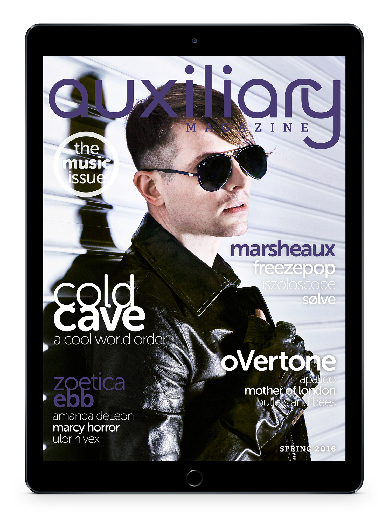 Auxiliary Magazine Spring 2016 Issue