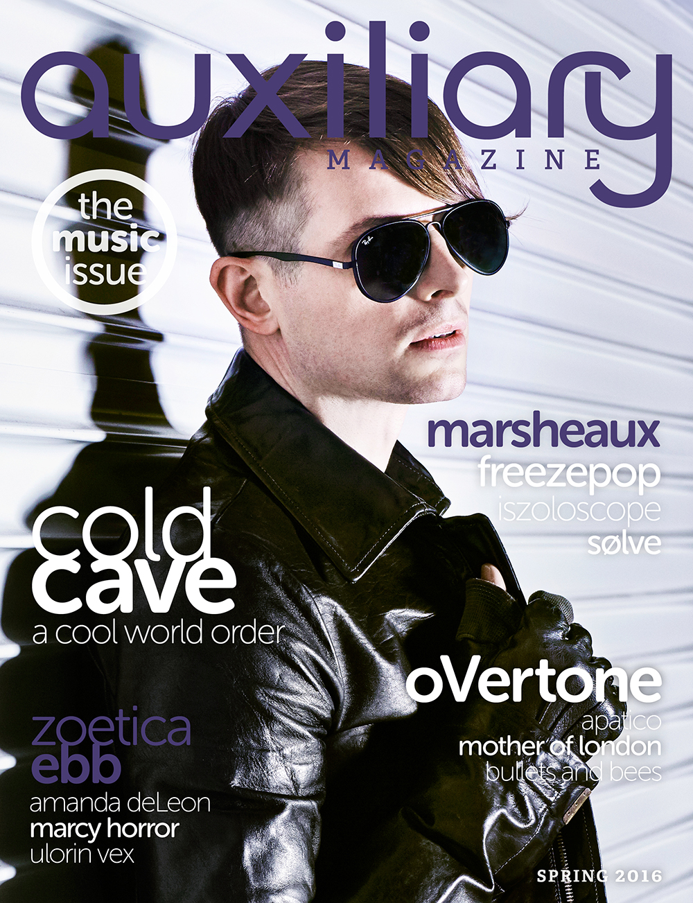 Auxiliary Magazine Spring 2016 Issue Cold Cave