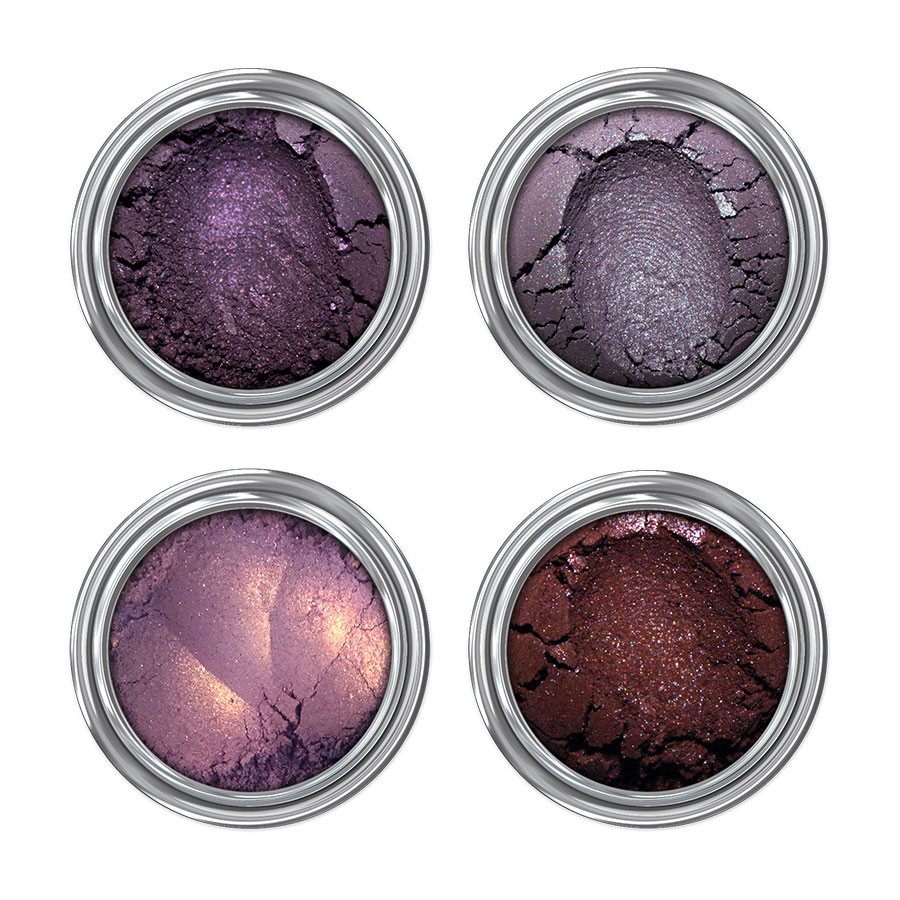 Black Magic Collection Concrete Minerals witchy eyeshadow