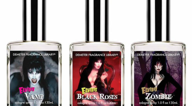 Demeter Crafts Scents Inspired by Elvira Mistress of the Dark and More