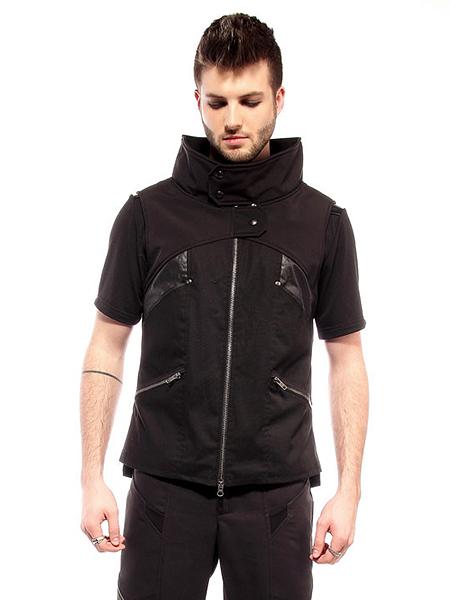 Plastik Wrap Cyberpunk Vest
