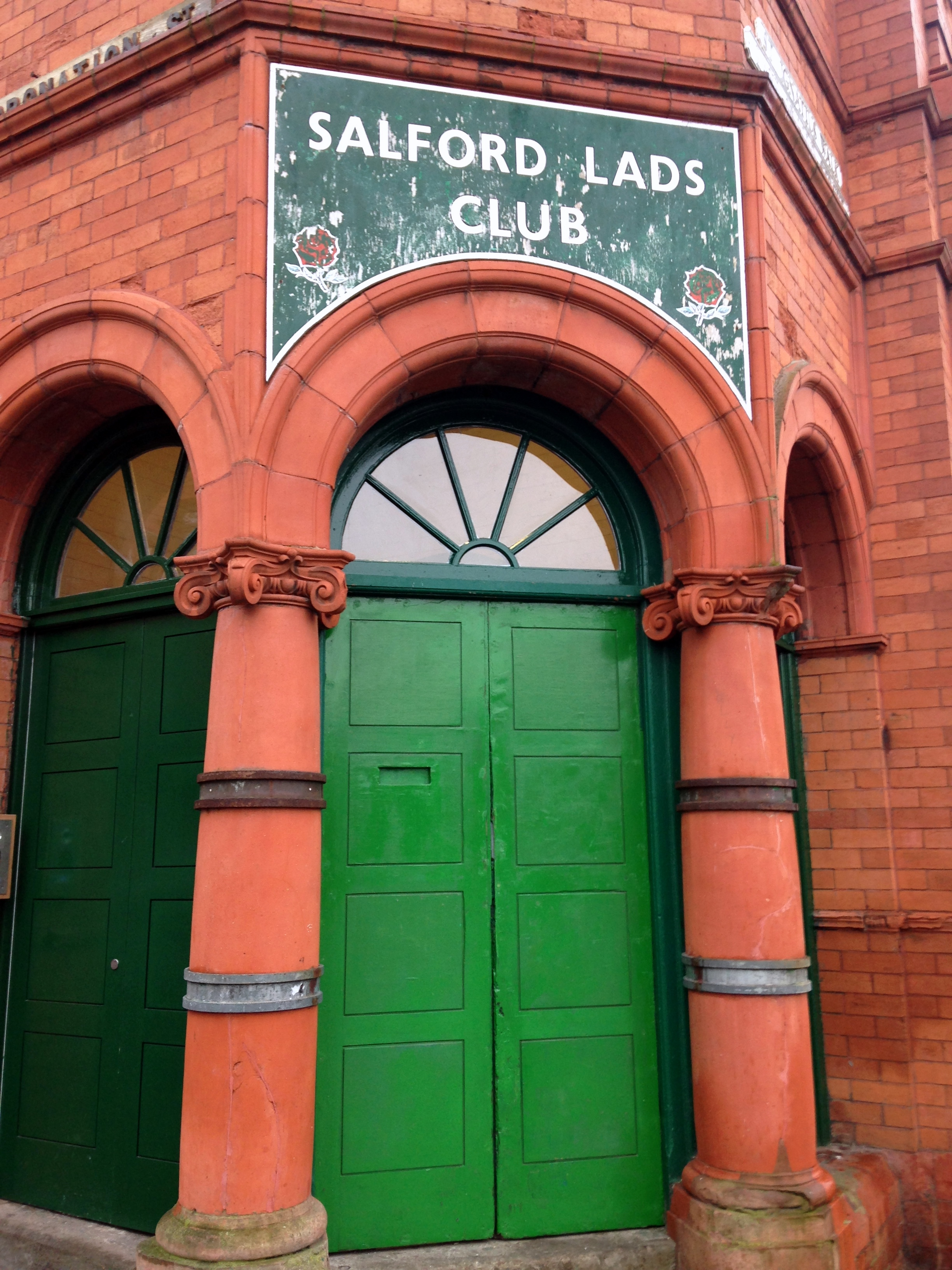 The Salford Lads Club, made world famous by The Smiths' album The Queen is Dead