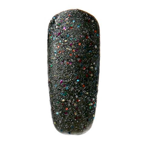 Meteora black glitter Nail Lacquer by Sugarpill Cosmetics