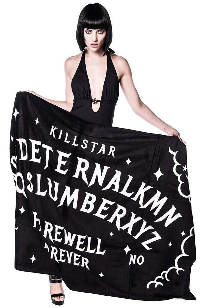Slumber Beach Towel by Killstar