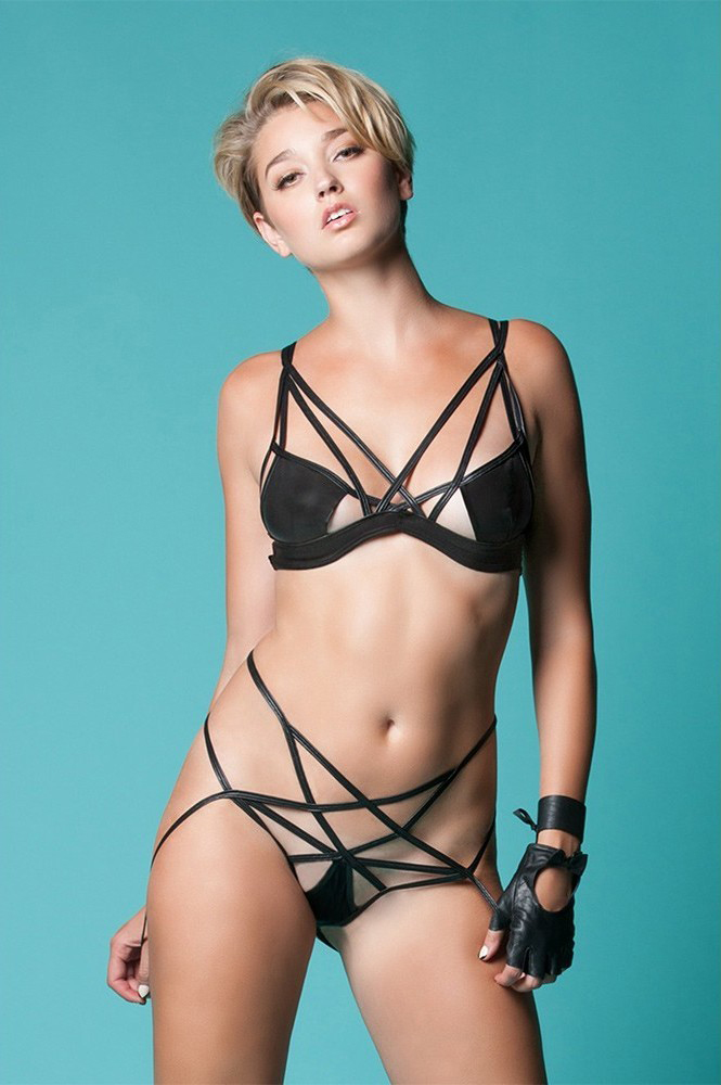 Cage Bra by Hauty available at Unbound