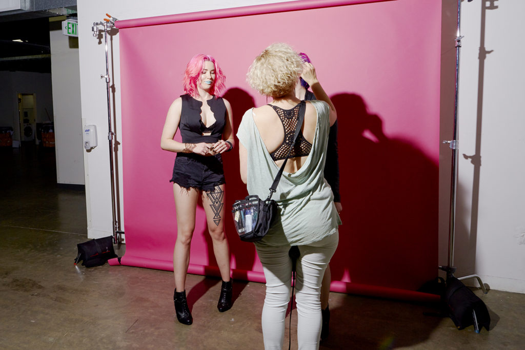 Behind the Scenes of Auxiliary's Overtone Interview