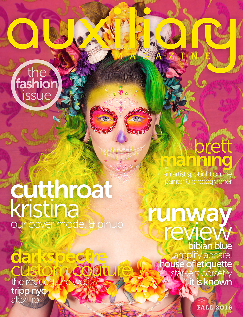 Fall 2016 Issue featuring Cutthroat Kristina
