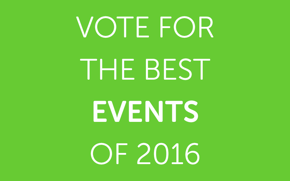 Vote for the Best Alternative Events of 2016
