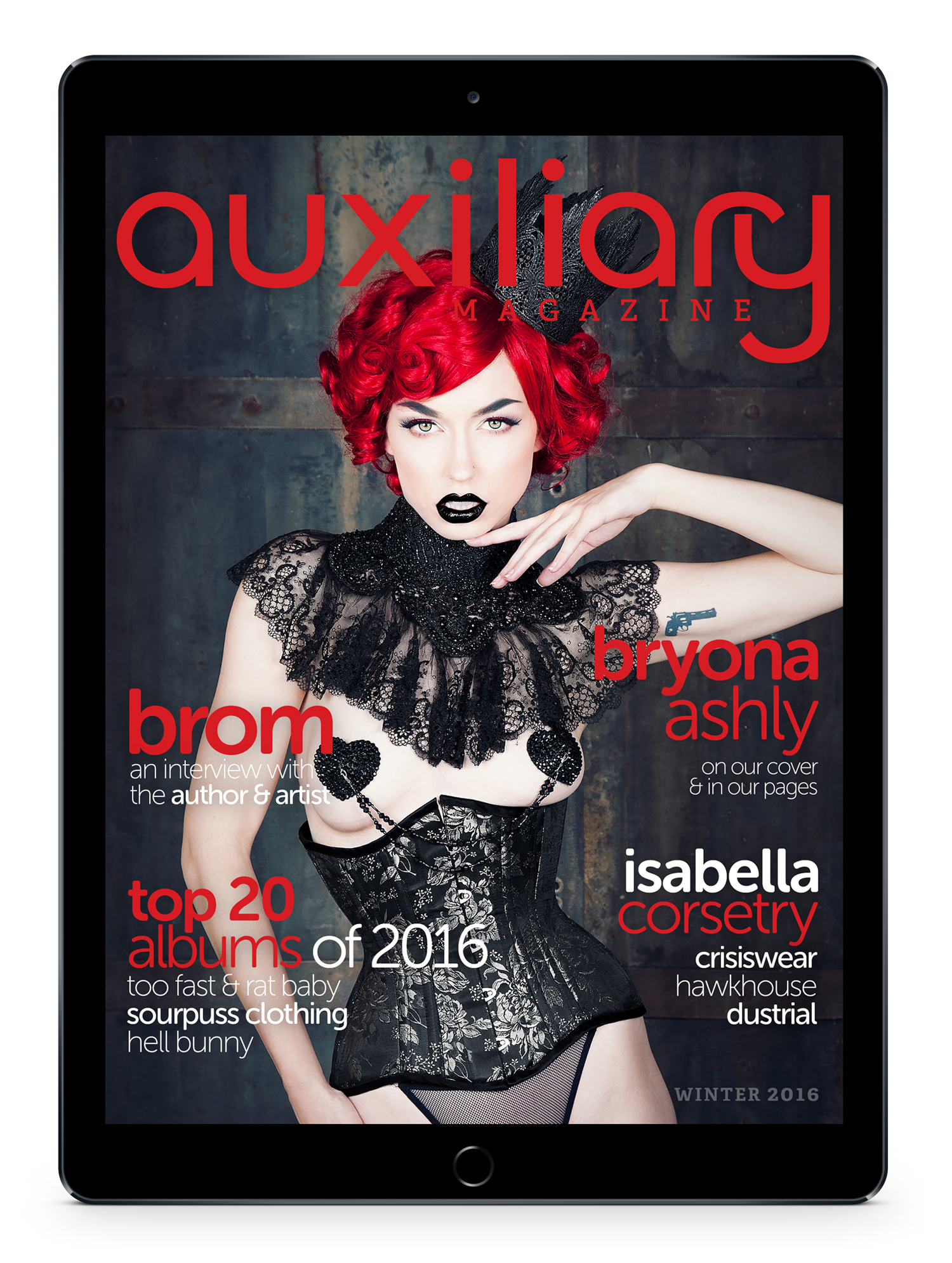 Auxiliary Magazine Winter 2016 Digital Issue