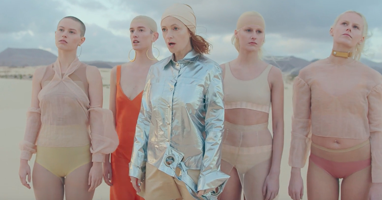 Auxiliary Goldfrapp Anymore music video