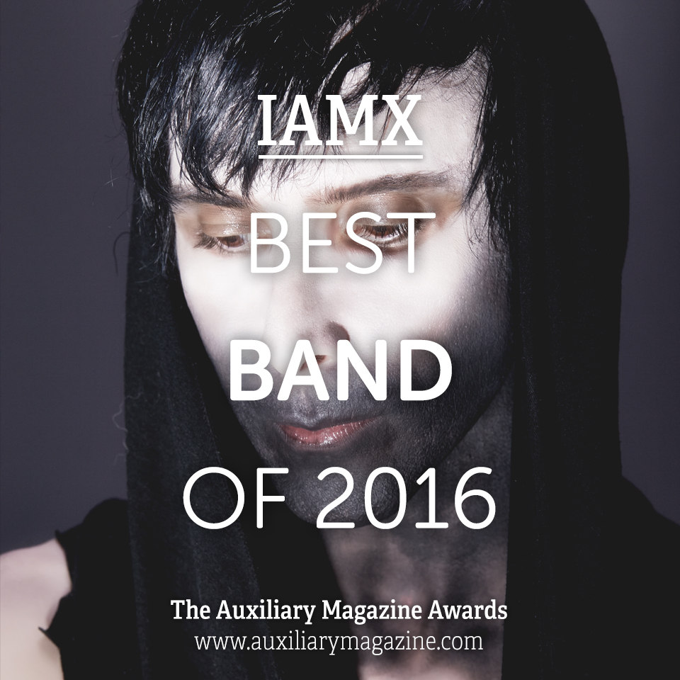 The Auxiliary Awards Best Band of 2016 IAMX Chris Corner