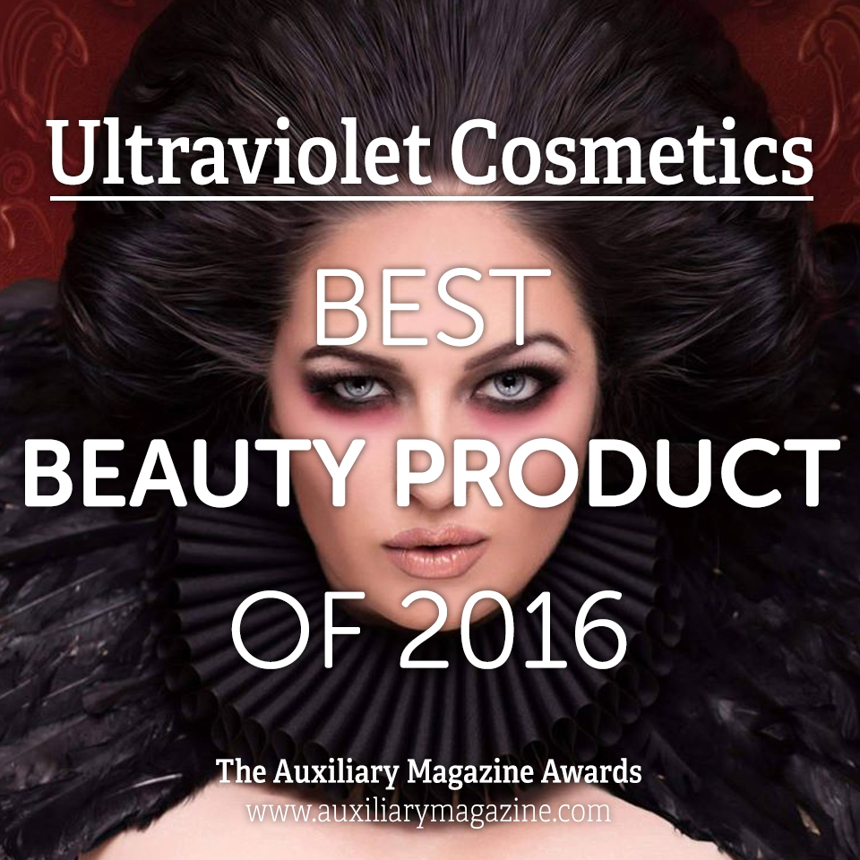 The Auxiliary Awards Best Beauty Product of 2016 Ultraviolet Cosmetics