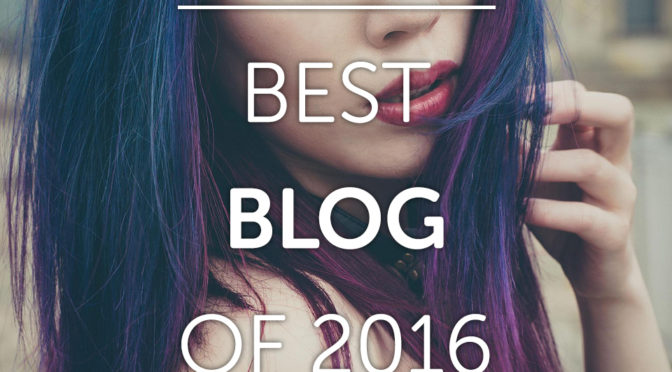La Carmina winner of Best Blog of 2016