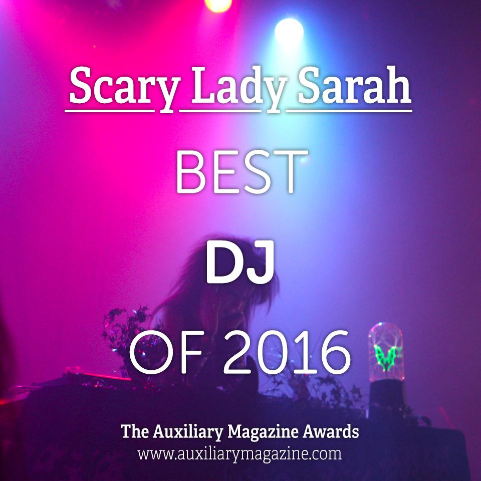 The Auxiliary Awards Best DJ of 2016 IAMX