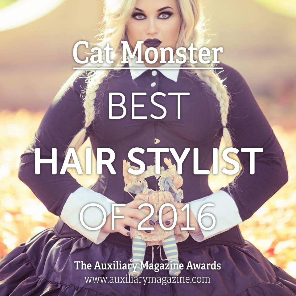 The Auxiliary Awards Best Hair Stylist of 2016 Cat Monster