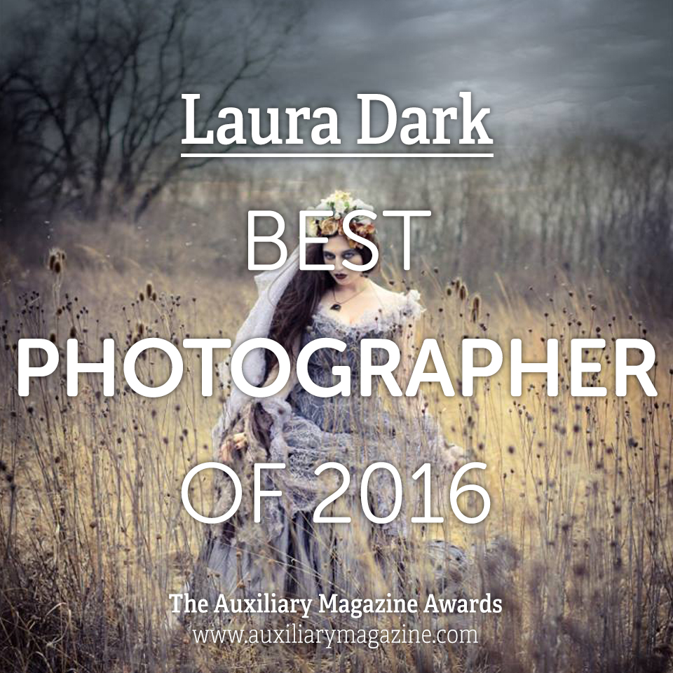 The Auxiliary Awards Best Photographer of 2016 Laura Dark