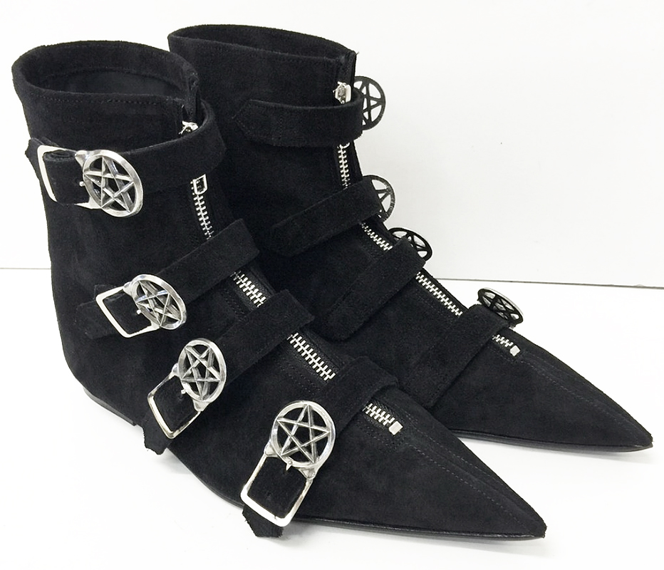 Auxiliary Item of the Week Gothic Shoe Company go to winklepickers