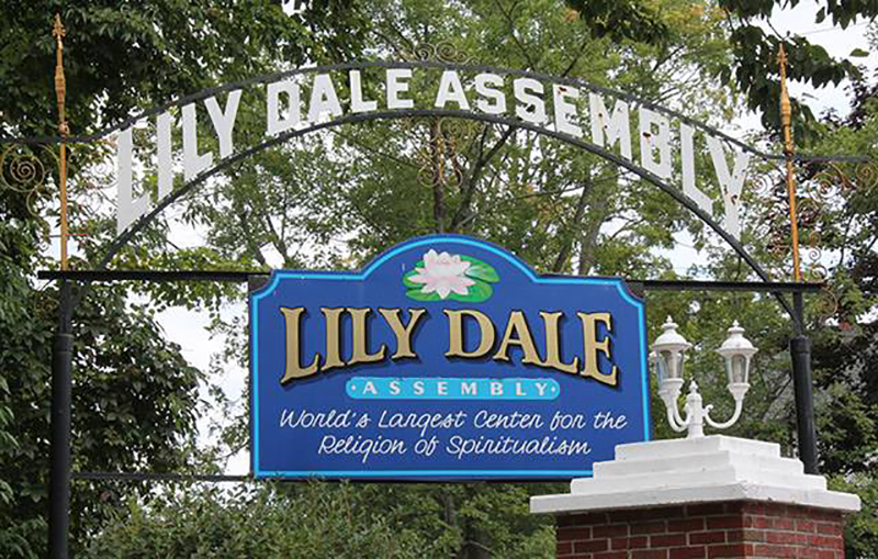 Auxiliary Advertiser Introduction The Lily Dale Assembly