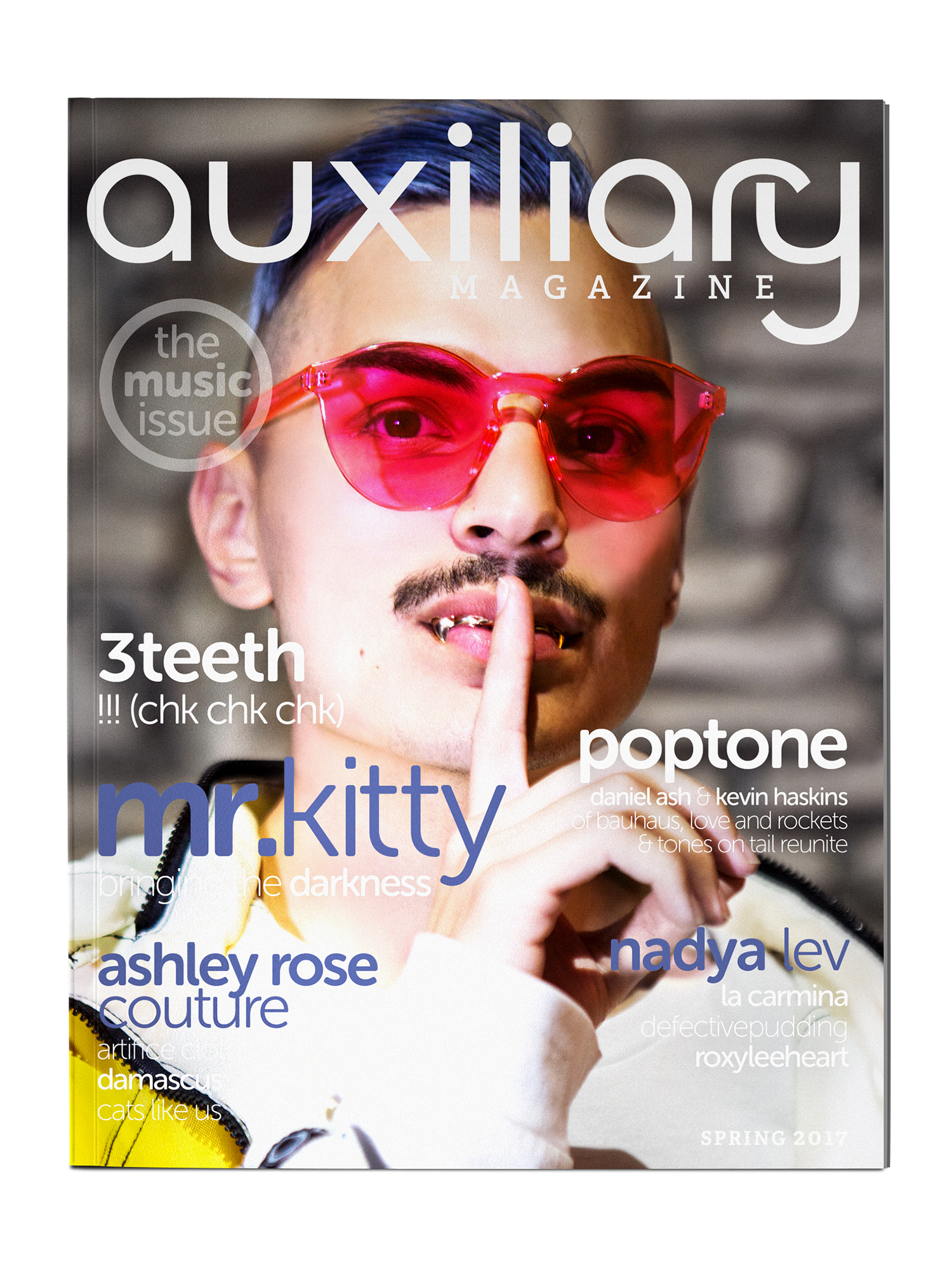 Auxiliary Magazine Spring 2017 Print Issue