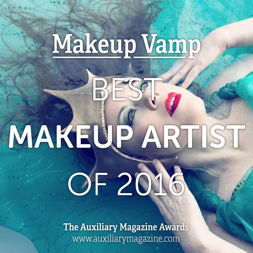 The Auxiliary Awards Best Makeup Artist of 2016 Makeup Vamp