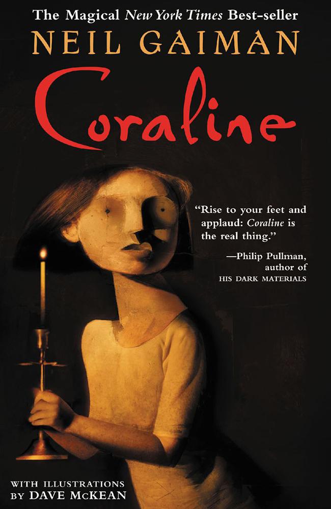dark fantasy books list Coraline Neil Gaiman