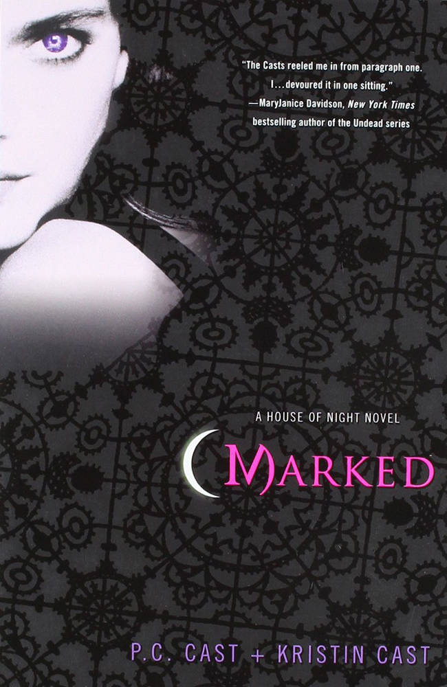 dark fantasy books list Marked P. C. Cast Kristin Cast