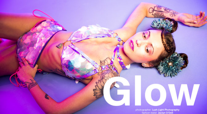 Glow fashion editorial featuring TOTEM Boutique