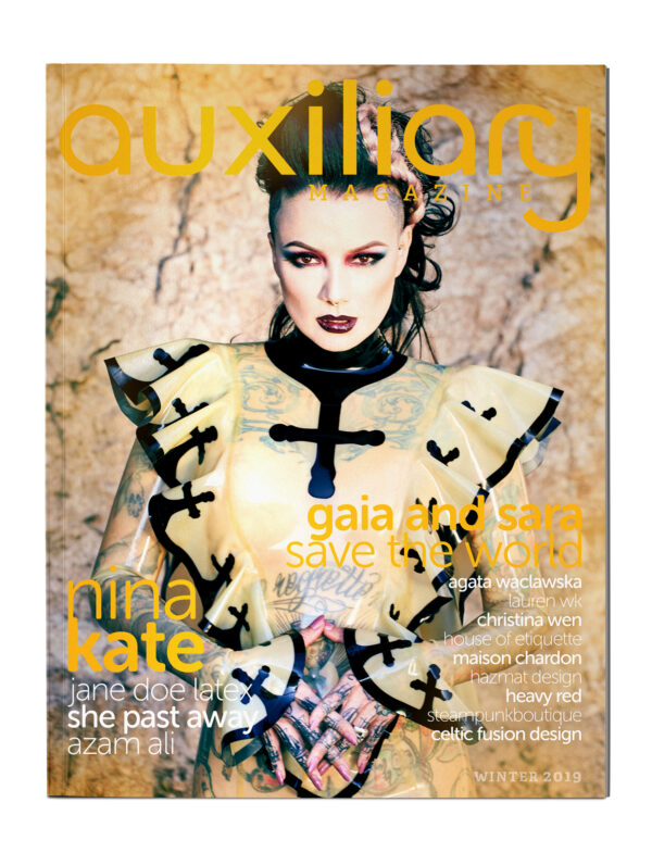 Auxiliary Magazine Winter 2019 Print Edition featuring Nina Kate
