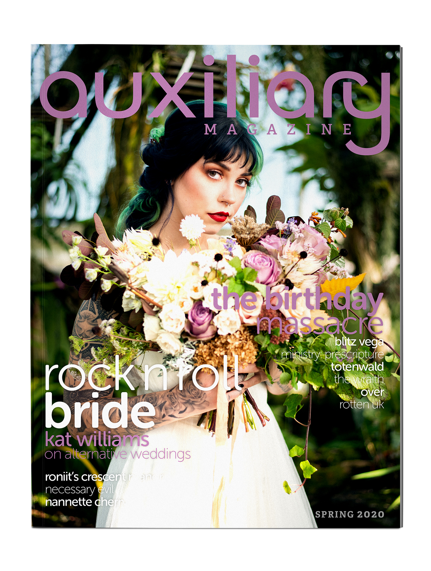 Auxiliary Magazine Spring 2020 Print Edition