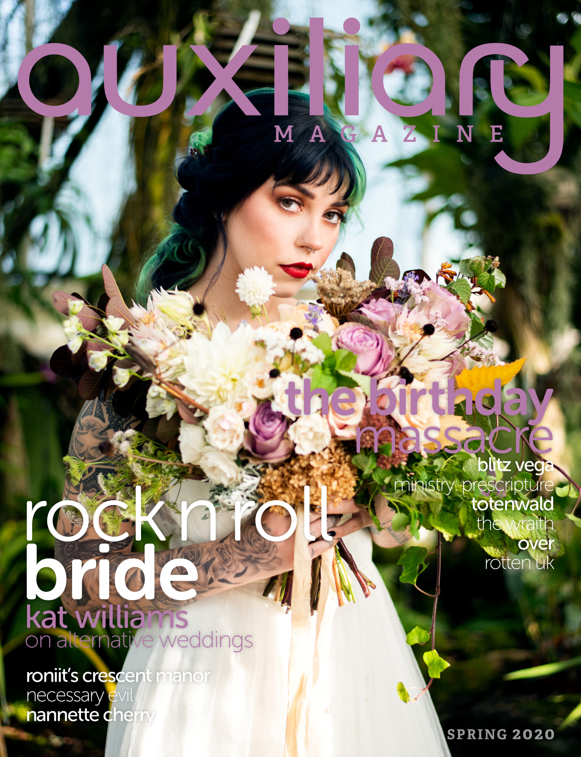 Auxiliary Magazine Spring 2020 Issue