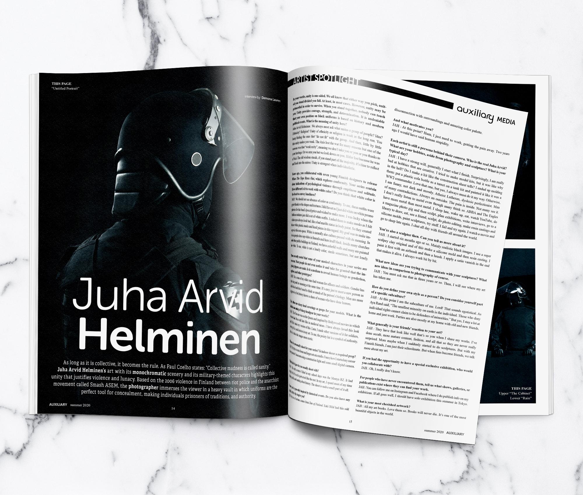 Juha Arvid Helminen Artist Spotlight