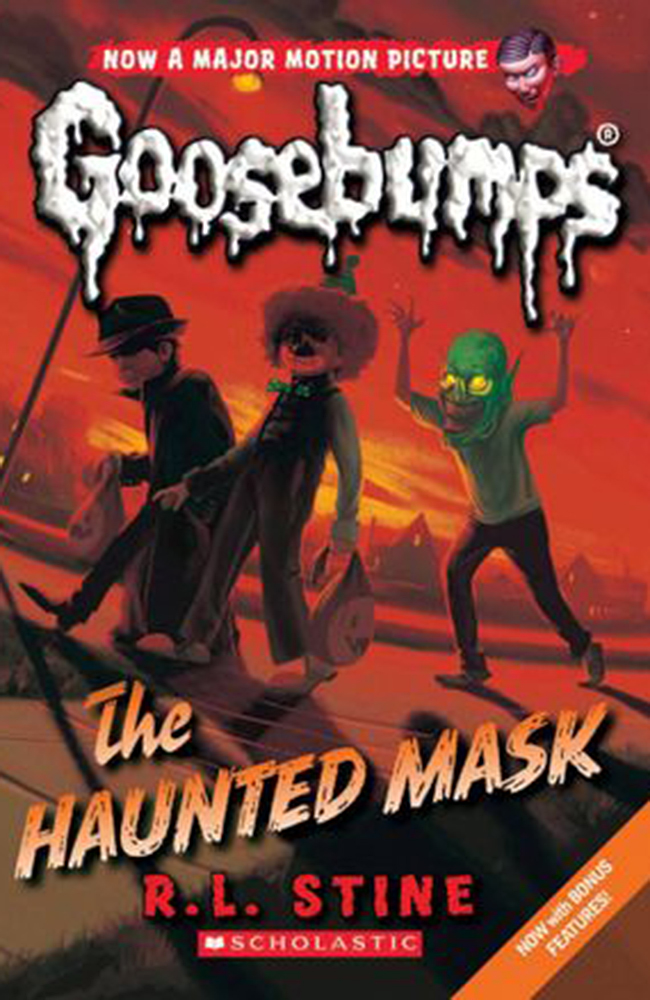 Auxiliary Halloween ReadingList The Haunted Mask