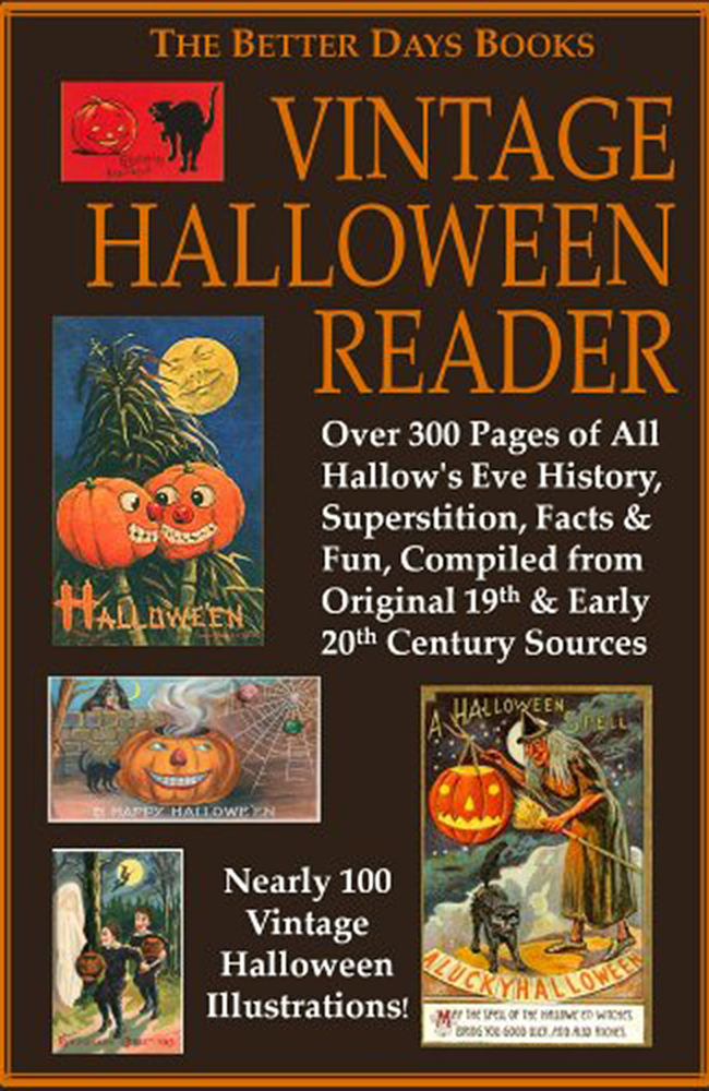Auxiliary Halloween Reading List Vintage Halloween Reader