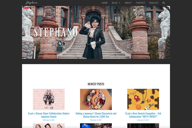 Auxiliary Magazine Goth Fashion Blog List featuring Stephano