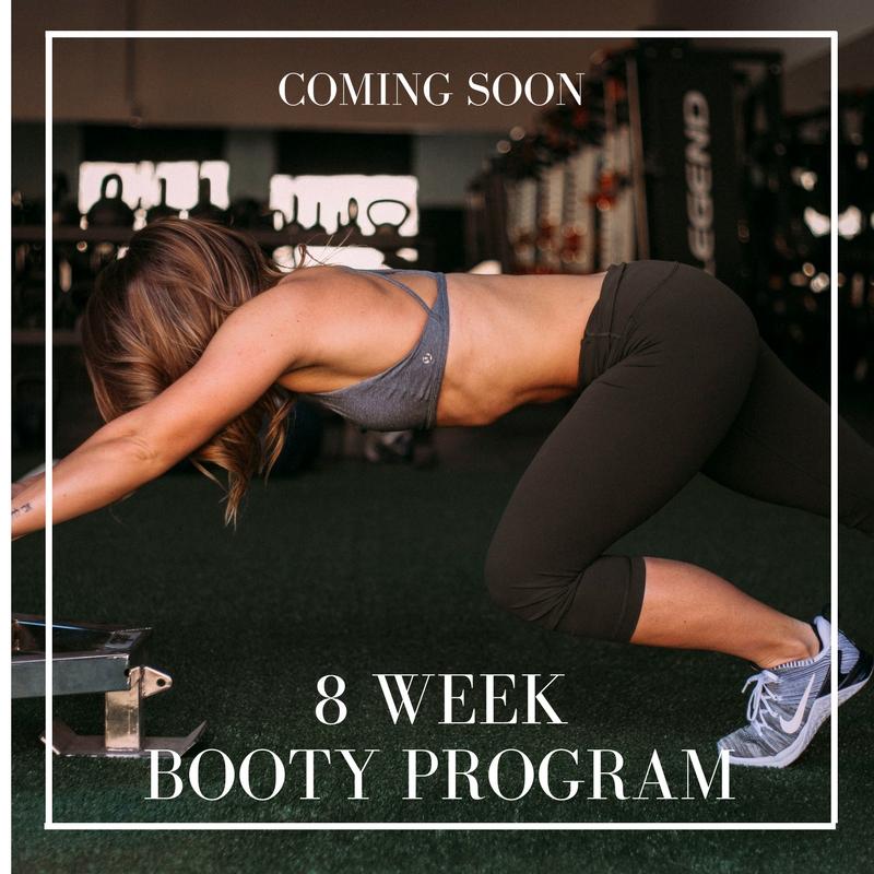 8 Week Booty Program Enlighten Life