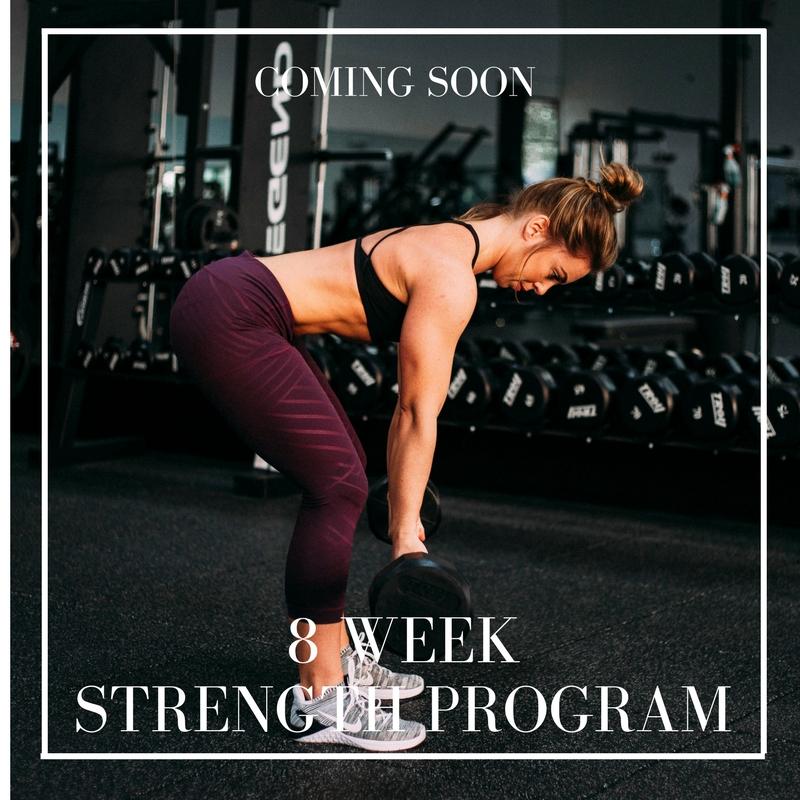 8 Week Strength Program Enlighten Life