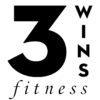 3 WINS Black Logo Small