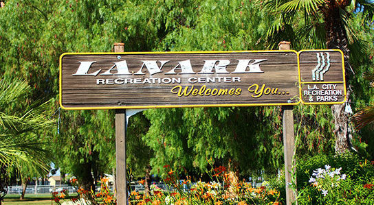 Lanark-post