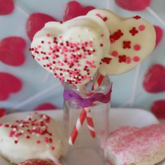 Valentine Sugar Cookie Pops!!