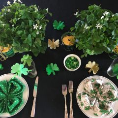 Happy St. Patrick's Day Table Setting!