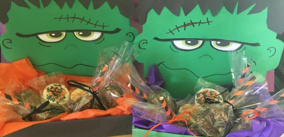 Frankenstein Treat Tray