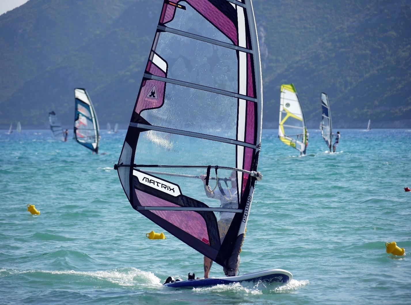 wind sailing