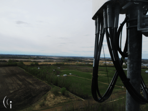 View from CCI's Westlock Tower