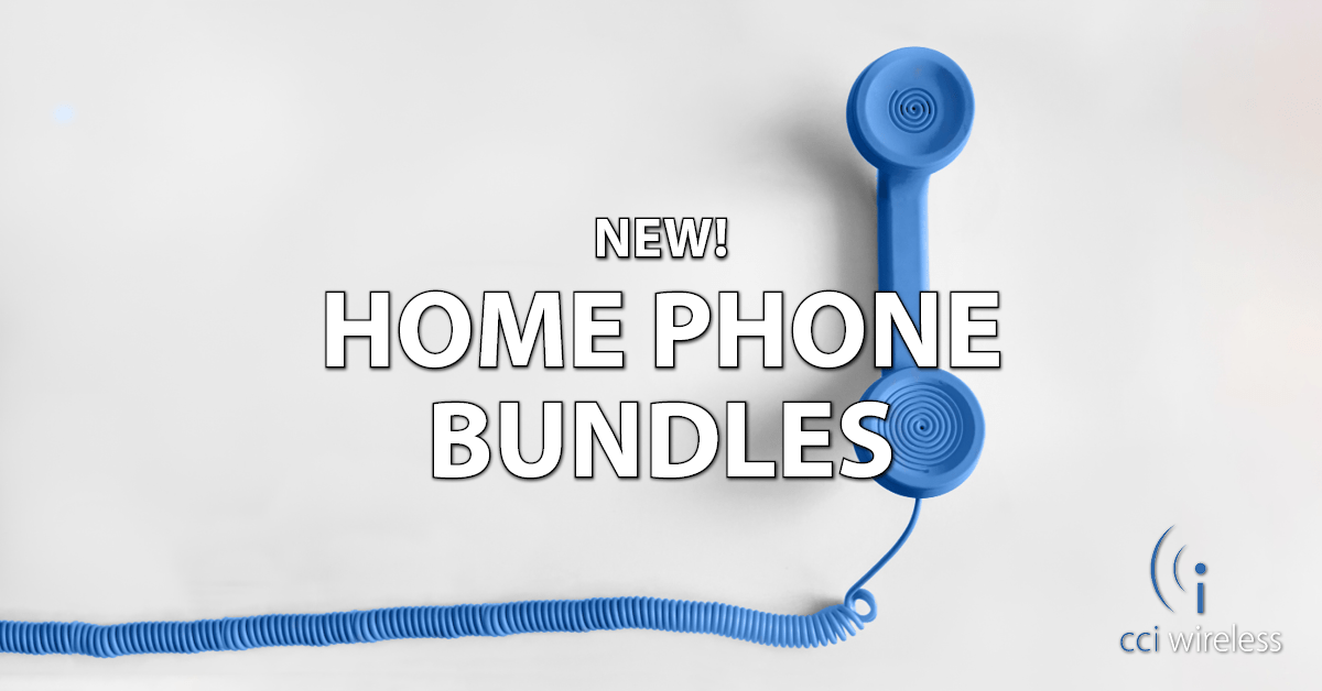 We've improved our Home Phone packages AND launched a new Bundle discount!